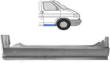 Türschweller Einstiegblech 3-teilig aussen innen Radlauf links für VW T4 IV