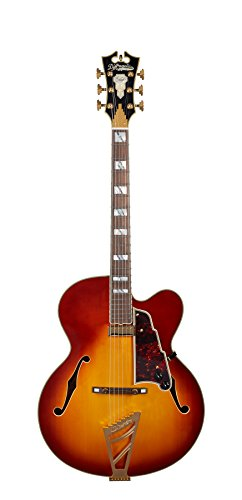 D'Angelico Excel EXL-1 Hollow-Body Electric Guitar – Iced Tea Burst