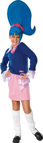 Girls Sapphire Trollz Costume - Child Medium]()