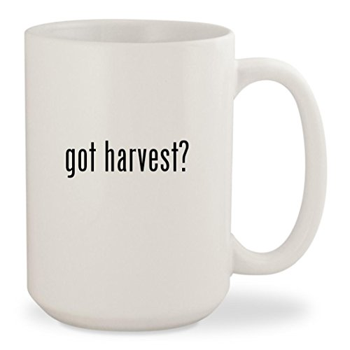 Price comparison product image got harvest - White 15oz Ceramic Coffee Mug Cup