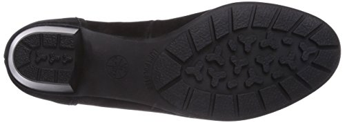 Schwarz Ara 37660 de Mujer para Schwarz 01 Tacón 12 Zapatos SRROpwqP0