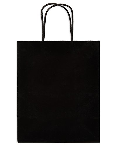 American Greetings Halloween Gift Bag, Small Solid Black (Quick And Simple Halloween Treats)