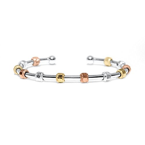 t Me Healthy Journal Bracelet - Tri Color ()