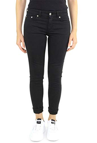 monroe bs009 P692 Donna Jeans Nero Dondup 8SEF0W