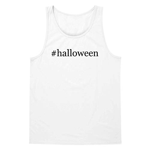The Town Butler #Halloween - A Soft & Comfortable Hashtag Men's Tank Top, White, X-Large]()