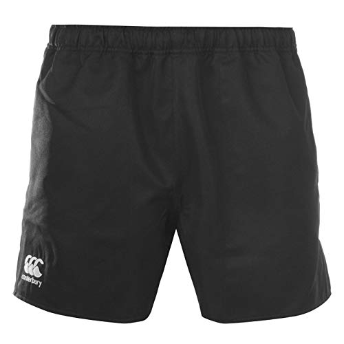 Canterbury CCC Professional Rugby Shorts Mens Black Bottoms Fitness Sportswear XX-Large (Ccc Shorts)
