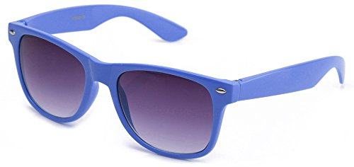 80's Classic Blue Brothers Horn Rimmed Style Vintage Retro Sunglasses Lots of Popular Colors to - Sunglasses Vb