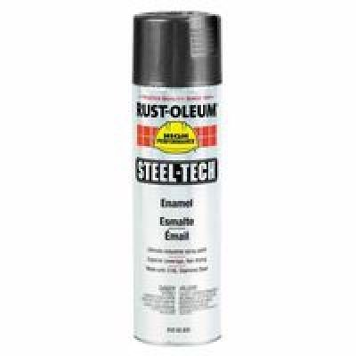 Steel-Tech Spray Paint, 15 oz Can, Metallic Gray