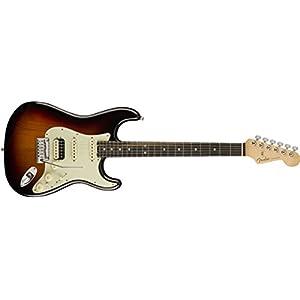 American Elite Stratocaster HSS Shawbucker EB 3-Color Sunburst