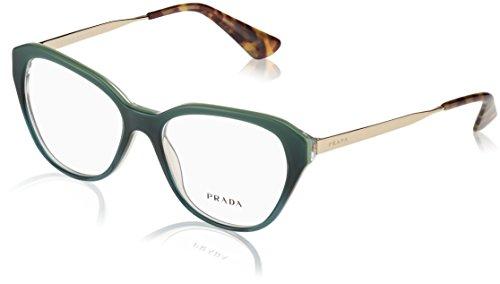 Prada Green (Prada CINEMA PR28SV Eyeglass Frames UFU1O1-52 - Green Gradient PR28SV-UFU1O1-52)