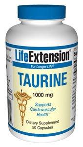 Prolongation de la vie taurine | 1000 mg 50 capsules (Multi-Pack)