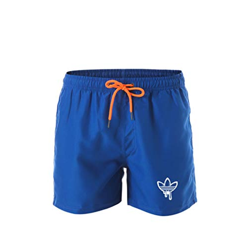 Hawaiian Trunks Swim Lined (Mens Sports Shorts Classic Casual Summer Swim Trunks Beachwear Quick Dry Surfing Board Short)