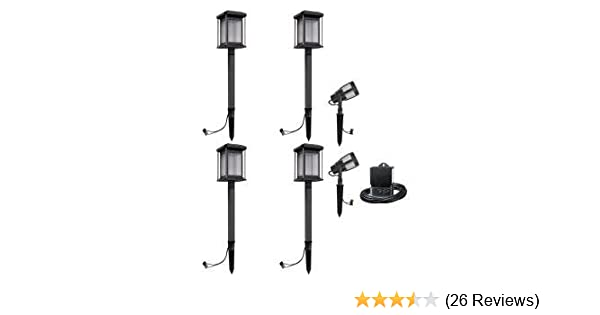 Malibu Prominence 6 Pack LED Light Kit. These Landscape Lights are Best for Exterior and Outdoor Lighting. This Low Voltage Light Set is consist of 2 ...
