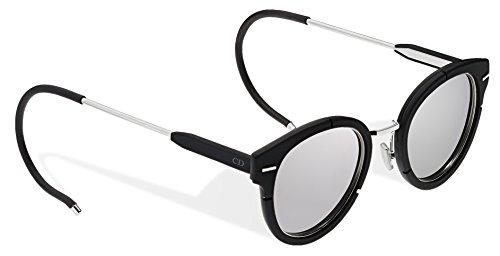 Christian Dior - DIOR MAGNITUDE 01, Rondes, métal, homme, BLACK/LIGHT GREY(S7W/SF), 61/16/175