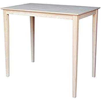 Amazon Com International Concepts Table Top Solid With