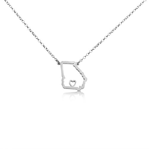925-sterling-silver-small-georgia-home-is-where-the-heart-is-home-state-necklace-18-inches