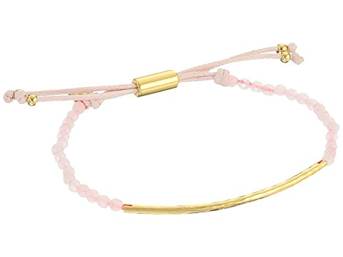 gorjana Women's Power Gemstone Bracelet Rose Quartz One Size