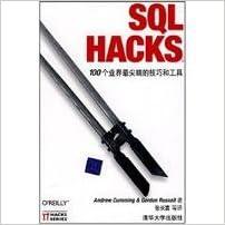 Ilmaiset e-kirjat google-latauksessa SQL Hacks: 100 the industry s most sophisticated techniques and tools Suomeksi PDF DJVU FB2 7302174849