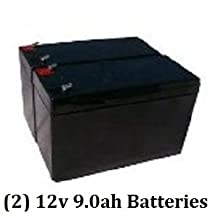 APC Back-UPS XS 1300 BX1300LCD Battery (8 AMP HOUR x 2)