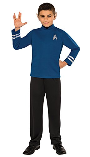 Spock Costumes (Rubie's Costume Kids Star Trek: Beyond Spock Costume, Medium)