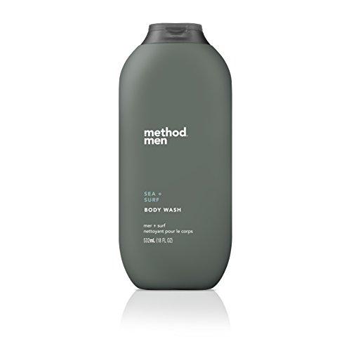 Method Mens Body Wash, Sea + Surf, 18 Ounce