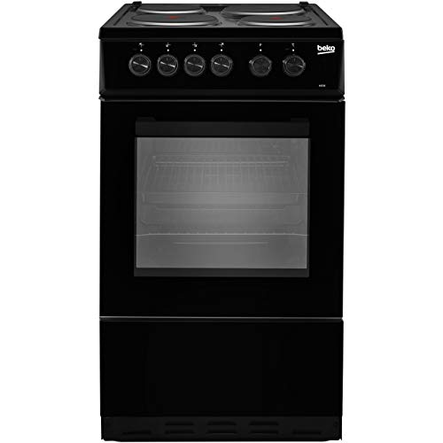 Beko As530K Freestanding Electric a Rated Cooker -Black