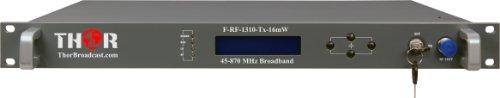 16 mW Thor Fiber CATV RF Over Fiber Transmitter 45-870 MHz