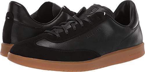 (Cole Haan Men's Grandpro Turf Sneaker Tumbled/Black Suede, 9.5 W US)