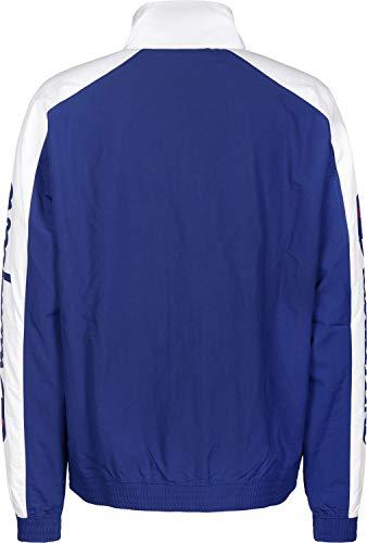 Sweatshirt Track bai weiß Men 212376 Zip Jacket Champion wht Full Blau qX57wF4P