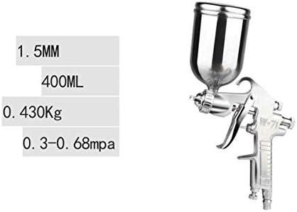 CHENTAOCS 上下のポットは、ガン家具ウッドカーは、空気圧がスプレーガンペイントスプレーペイント (Color : Silver, Size : B)