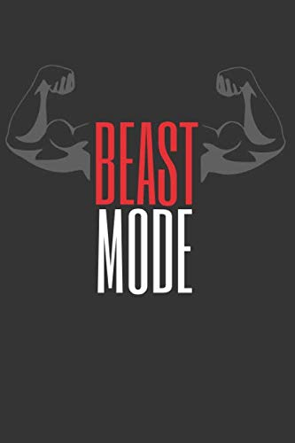 BEAST MODE: Workout Log Book | Gym, Bodybuilding Journal | EXERCISE JOURNAL | FITNESS NOTEBOOK | CREATIVE GIFT. BIRTHDAY, CHRISTMAS. (Best Cardio Workout Routine)