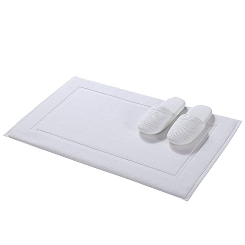 Bathroom towels cotton bathroom water-absorbing towel bath mat -5080cm by ZYZX
