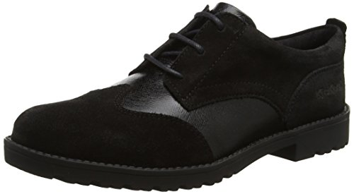 Kickers Lachly Lace - Botas Mujer Black (Black)
