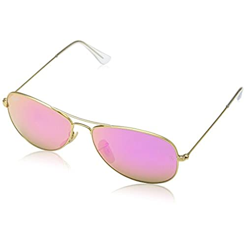 af58ee2afa ... best price ray ban rb3362 cockpit sunglasses 112 4t gold cyclamen flash  lens 56mm 62de4 60840