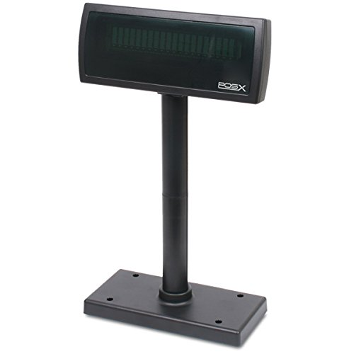 POS-X XP8200U Customer Pole Display, USB Powered, black