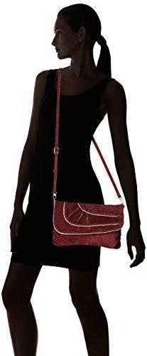 Ibbie 24 Louise Sacs Vin bandouliere Rouge Croute femme Mila pE1wd8xx