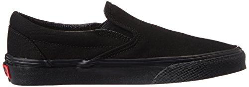 Vans U CLASSIC SLIP-ON BLACK - Zapatillas de skateboarding unisex Negro (Black/Black BKA)