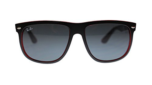 Ray Ban Highstreet Mens Sunglasses RB4147 617187 Top Mat Black On Red - Black White Ban Ray Sunglasses And