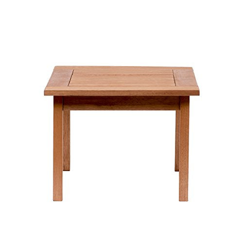 Amazonia Murano Eucalyptus Square Side Table (Outdoor Square Side Table)