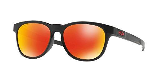Oakley Stringer Sunglasses Matte Black / Prizm Ruby & Cleaning Kit - Stringer Oakley