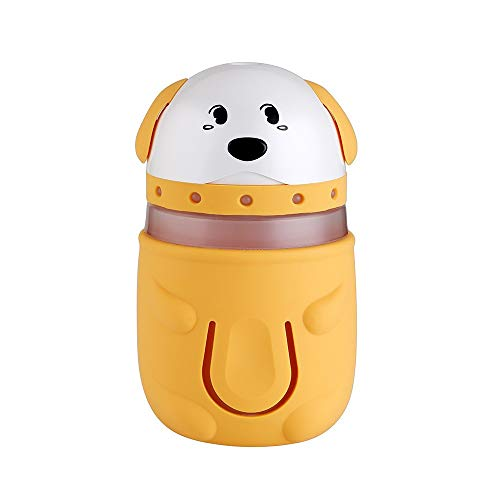 Multi-diffuser diffuser difussers Humidifier Humidifiers cooler vaporiser cartoon USB colorful night light desktop mini car purification yellow by Multi-diffuser