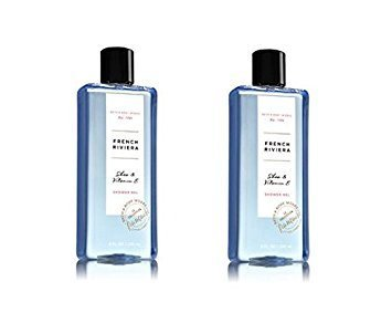 Price comparison product image Bath and Body Works  French Riviera Shower Gel 8 Oz (2 Pack)