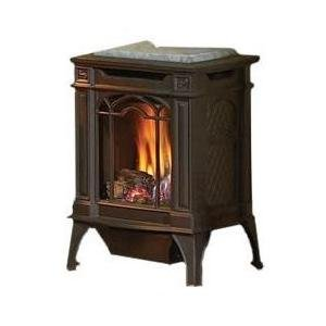 Napoleon Gvfs20 Arlington Cast Iron Natural Gas Stove - Black