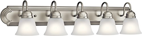 Kichler Lighting 5339NIS Five Light Bath, Brushed Nickel