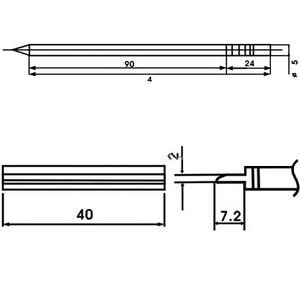 SATKIT AOYUE LF-1402 PUNTA SOLDADOR CON RESISTENCIA INCLUIDA: Amazon.es: Bricolaje y herramientas