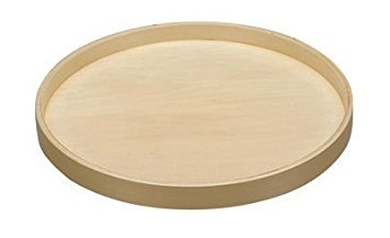 Rev-A-Shelf 28 in Banded Wood Full Circle Lazy Susan w/Steel Bearing