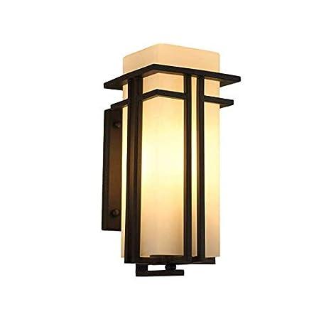 Lámpara de techo-proyector-lámpara Pared exterior Terraza Jardín ...