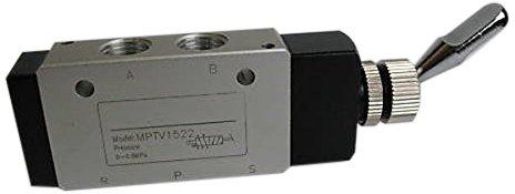 MettleAir MPTV1522 Pneumatic Valve, 5 Way, 2 Position, Air Switch ...