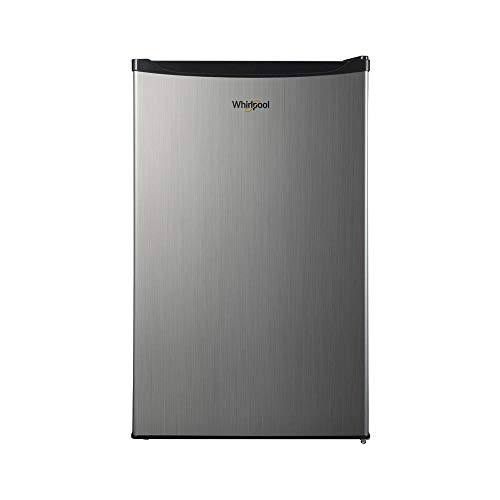 Whirlpool WHR43S1E 4.3 cu ft Refrigerator, Stainless Steel (Kenmore 21 Cu Ft Refrigerator Side By Side)