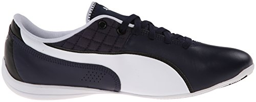 Mens Puma Drift Cat 6 Motorsport Moda Sneaker Peacoat / Bianco / Nero